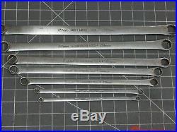 Snap On 7Pc Metric Long High Performance Box Wrench Set 6MM 20MM XDHFM READ