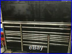 Snap-On 84 EPIQ Roll Cab and Workcenter withAuto Light