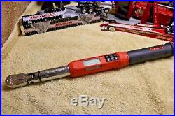 Snap On ATECH2F100 3/8 Drive Flex-Head TechAngle Torque Wrench AS IS