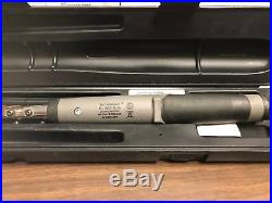 Snap-On ATECH2FR100A 3/8 Drive Digital Torque Wrench TECHWRENCH 5 100FT LBS