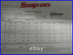 Snap-On ATECH3F300GB 1/2 Drive Electronic Torque/Angle Wrench Green 15-300lb