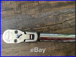 Snap-On ATECH3FR250A Flex-Head Digital TechAngle Torque Wrench 12.5-250 ftlb