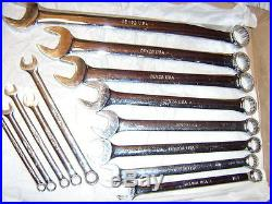 Snap On Combination Wrench Set