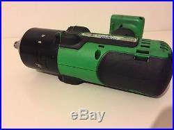 Snap On Green 18v 1/2 Dr Impact Wrench Gun BODY Model CTEU8850G