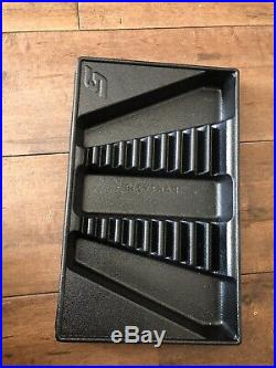 Snap On, Long, Combination Spanner Set, 10-19mm, In Storage Tray