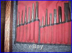 Snap On Punch & Chisel Set