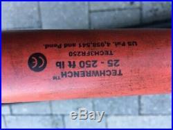 Snap On (TECH3FR250) 1/2 25-250 Ft Lbs Flex Head digital Torque Wrench