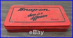 Snap On Tap & Die Set TD-2425