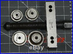 Snap On Tool Puller Set n Metal Box CJ282 CJ86-1 Center Points Gear Pulley Pully