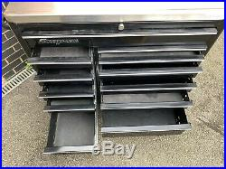 Snap On Toolbox, Roll Cab, Tool Chest 40 Box With Stainless Top