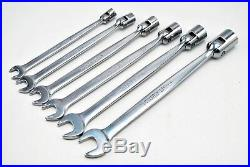 Snap On Tools 12pt SAE Socket Wrench Flex-Head Open End Combination OVER 60% OFF