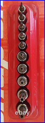 Snap On Tools 1/4 & 3/8 Drive 10 Pc Tamper Resistant TORX Socket Set 210EFTXRY