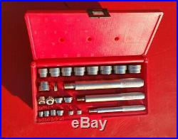 Snap On Tools 23 Piece Bushing Driver Set A157b Complete Set With Case Pb20-usa