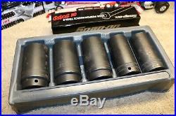 Snap-On Tools 305SIMMY 5 Piece 1/2 Drive Metric Impact Socket Set, 29,30,34,35,36