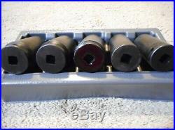 Snap-On Tools 305SIMMY 5 Piece 1/2 Drive Metric Impact Socket Set 29,30,34,35,36