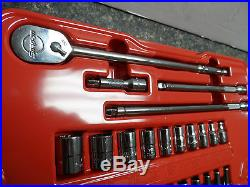 Snap-On Tools 36pc. 1/4 Drive SAE 6pt Socket Set