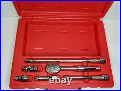 Snap On Tools 6 pc 3/8 Drive Handle Set 206AFSP NEW Never Used