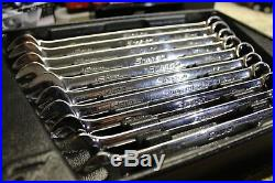 Snap On Tools OEXM710B Metric Combination Wrench Set 10-19 mm Flank Drive 1 pc