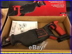 Snap On Tools USED Hand Held Cordless Recipocating Saw Monster Lithium 18v