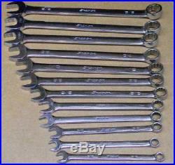 Snap-on 12pc Sae 12pt Combination Wrench Set