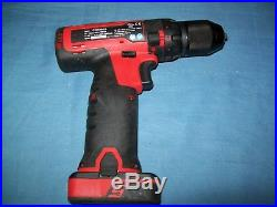 Snap-on 14.4 V MicroLithium Cordless Drill with 1 battery CDR761A Barely Used