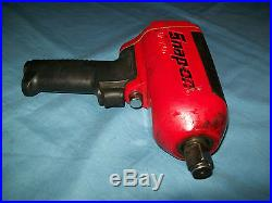Snap-on 3/4 drive SUPER Duty Magnesium Air Impact Wrench MG1250 used