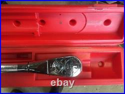 Snap on 3/4 torque wrench