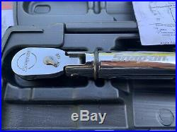 Snap-on ATECH2FR100B 3/8 Drive Electronic TechAngle FLEX HEAD Torque Wrench