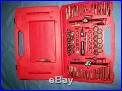 Snap-on TDTDM117A 117-pc Master Tap and Die & HSS Drill Bit Set METRIC SAE MINT
