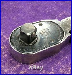 Snap-on Tool SHLF80A 1/2 Drive Soft Grip Long Flex-head Ratchet GREEN