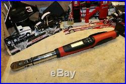 Snap-on Tools 3/8 Drive Flex-Head Techwrench Torque Wrench (5100 ft-lb)