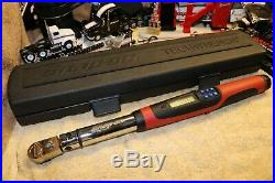 Snap-on Tools 3/8 Drive Flex-Head Techwrench Torque Wrench (5100 ft-lb)TECH2F