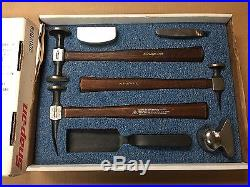 Snap-on Tools 7 Piece Body Tool Hammer & Dolly Set Very Lightly Used
