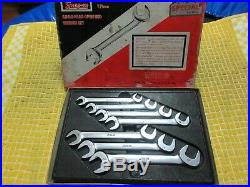 Snap-on Tools Angle-head open end wrench set METRIC VSM807