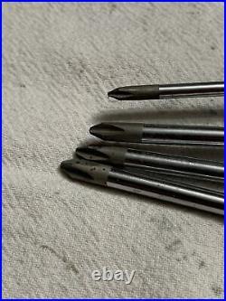 Snap-on Tools USA 8pc Long Black/Orange Handle Screwdriver Set