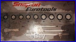 Snap on eurotools 3/4 drive socket set- REDUCED BARGAIN