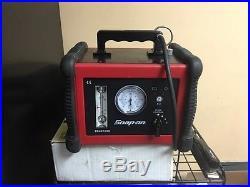 Snap on smoke machine plus leak detector