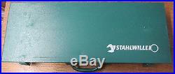 Stahlwille 96050104 55/10/6 3/4 Inch Socket Set In Sturdy Steel Case