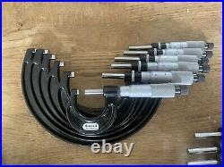 Starrett micrometer set 0-300mm