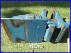 Swindens Vice Vintage Bench Engineering Tool Swivel Double Jaw 6 & 5