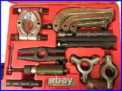 Sykes pickavant 1500 series hydraulic puller set with case