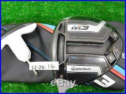 TaylorMade 2018 M3 460 10.5 Left Hand Driver Tensei CK 60 Regular w HC & Tool