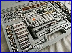 Teng Tools 111 Piece Socket Set -1/2 3/8 1/4 ratchets allen torx metric imperial