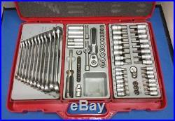 Tengtools Spanner and socket set
