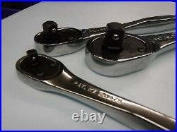 USA CRAFTSMAN PREMIUM RATCHETS 1/4 3/8 1/2 Professional Wrench SET Polished