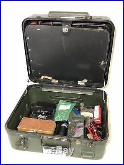 Us Military Tuff-tech Usmc Communications Electrician Tool Kit Tools Hard Case 2