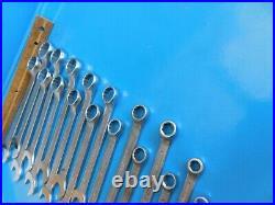 Used, Hazet 17 Pc. Metric Wrench Set, Series #603, 6mm Thru 22mm, W-germany