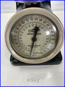 Used Rimac Valve Spring Tester Compressor 0 250 lbs Great Condition