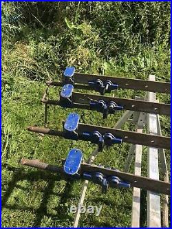 Used record sash clamps