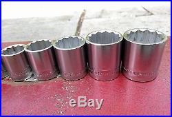 Vintage Britool socket set AF/WW